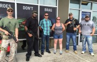Citizens Guard Unarmed Military Recruiters; Liberals Complain