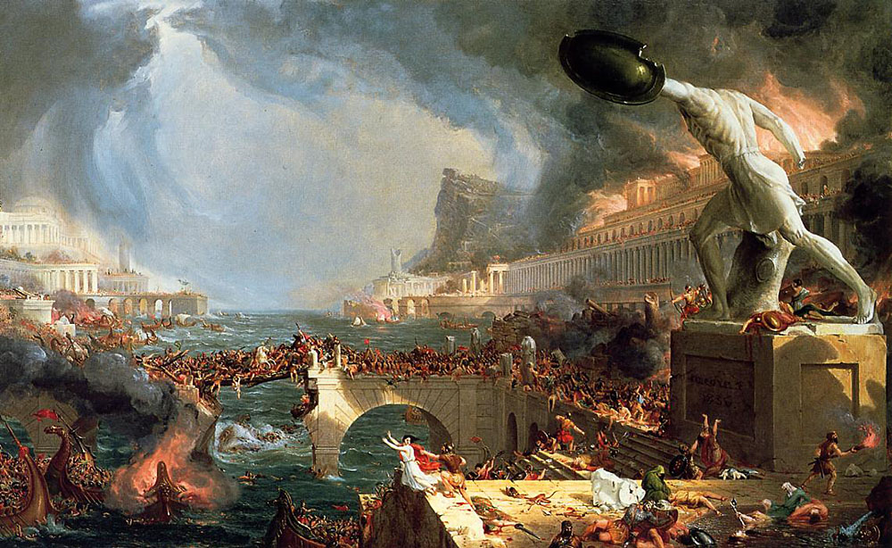 Will the US Collapse Like the Roman Empire?
