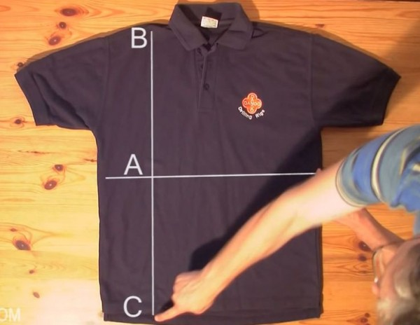 For Men Only:  How to Fold a Shirt Perfectly In Just 5 Seconds