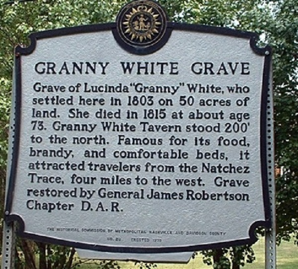 The Truth About The Woman Behind 'Granny White Pike'