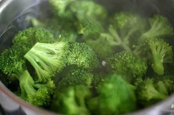 Broccoli At It's Best:  Steamed