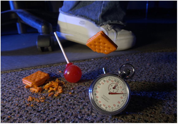 Trash the Five Second Rule