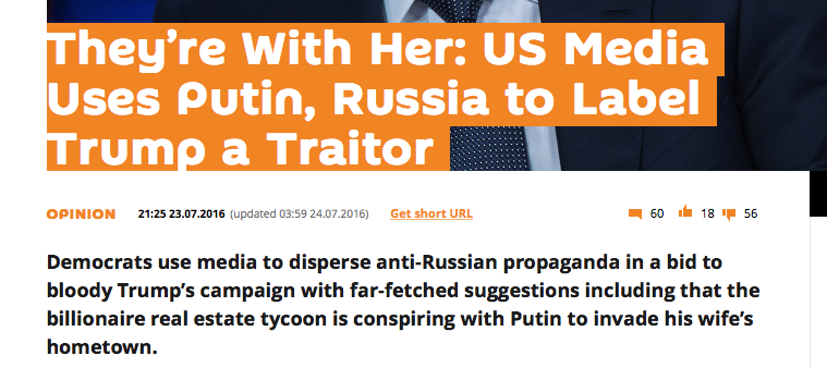 """""""RussiaGate"""" Is Simply an Extension of Hillary Clinton's Campaign"""