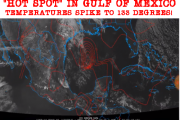 Something Incredibly Strange Is Going On In The Gulf Of Mexico As Temperatures Hit 130+ Degrees Repeatedly In One Location – Is Long Dormant Volcano Awakening Or Just A Bizarre Anomaly?